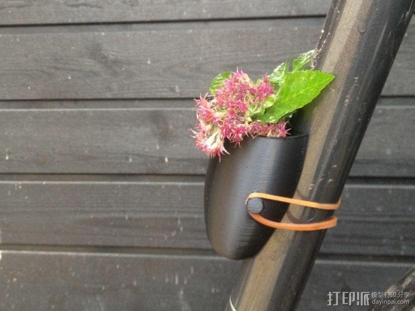 自行车绿植 3D模型  图1