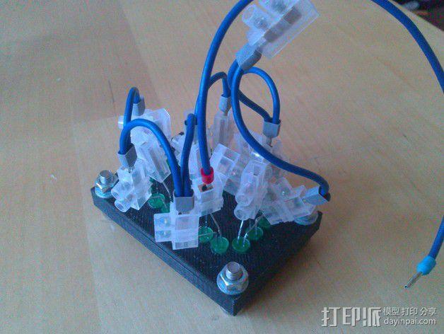 七段显示器 3D模型  图3