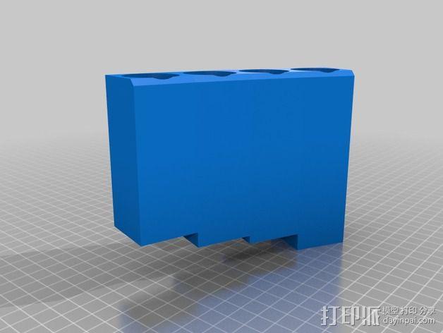 排萧 3D模型  图3