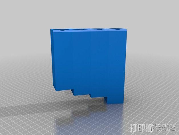 排萧 3D模型  图2