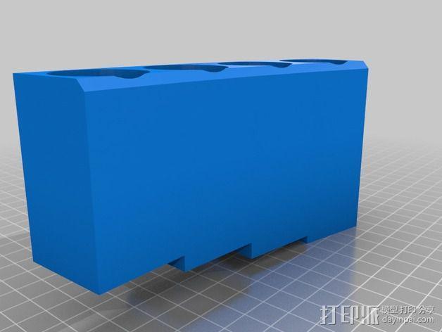 排萧 3D模型  图4
