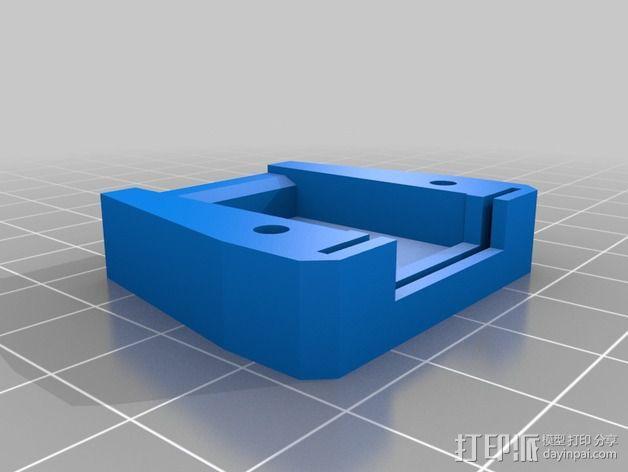 插头连接器外壳 3D模型  图2