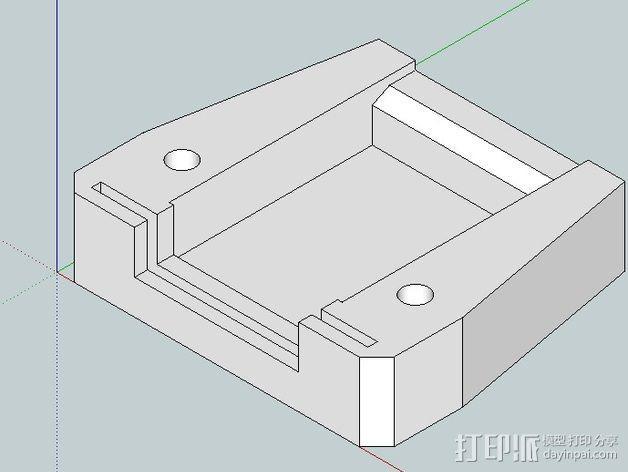 插头连接器外壳 3D模型  图4