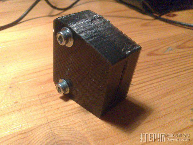 插头连接器外壳 3D模型  图3