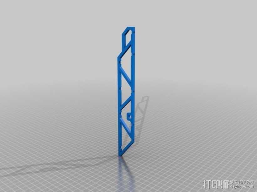 四轴飞行器常平架 3D模型  图9