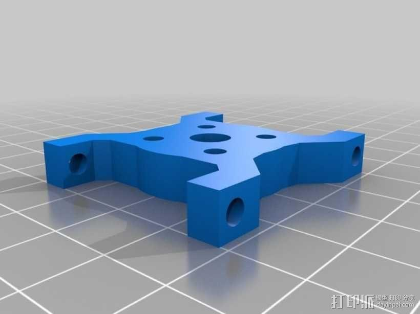 四轴飞行器常平架 3D模型  图11
