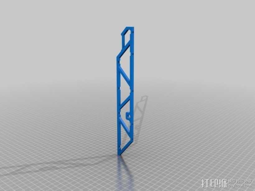 四轴飞行器常平架 3D模型  图10