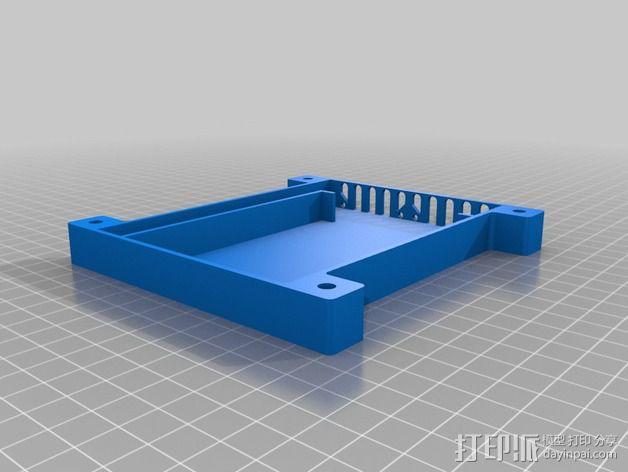 四轴飞行器底座 3D模型  图3