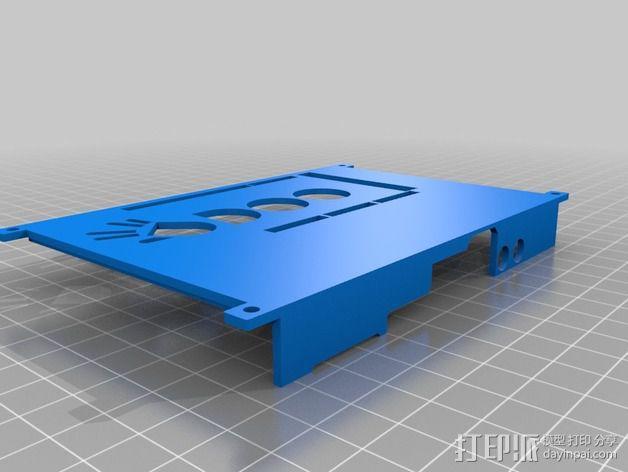 四轴飞行器底座 3D模型  图6