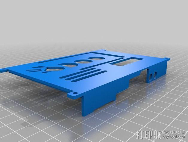 四轴飞行器底座 3D模型  图4
