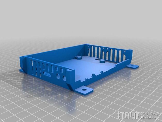 四轴飞行器底座 3D模型  图7