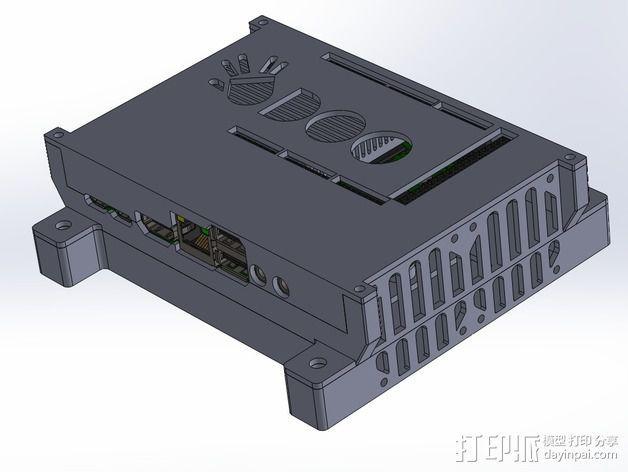 四轴飞行器底座 3D模型  图11