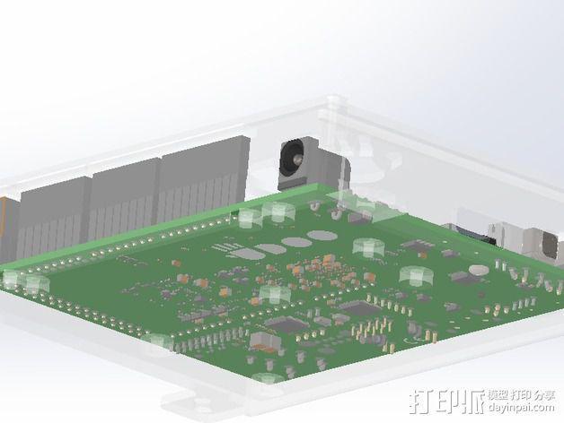 四轴飞行器底座 3D模型  图24