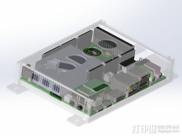 四轴飞行器底座 3D模型  图25