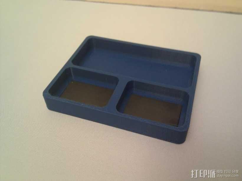 零部件收纳盒 3D模型  图1