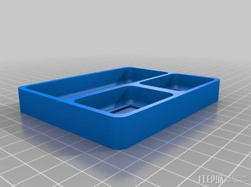 零部件收纳盒 3D模型  图2