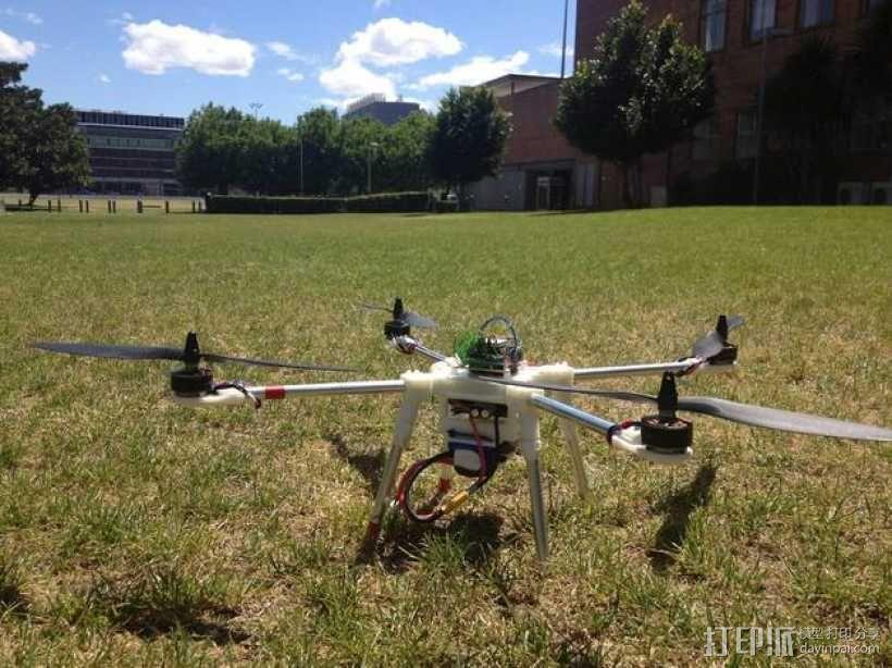 四轴飞行器 3D模型  图10