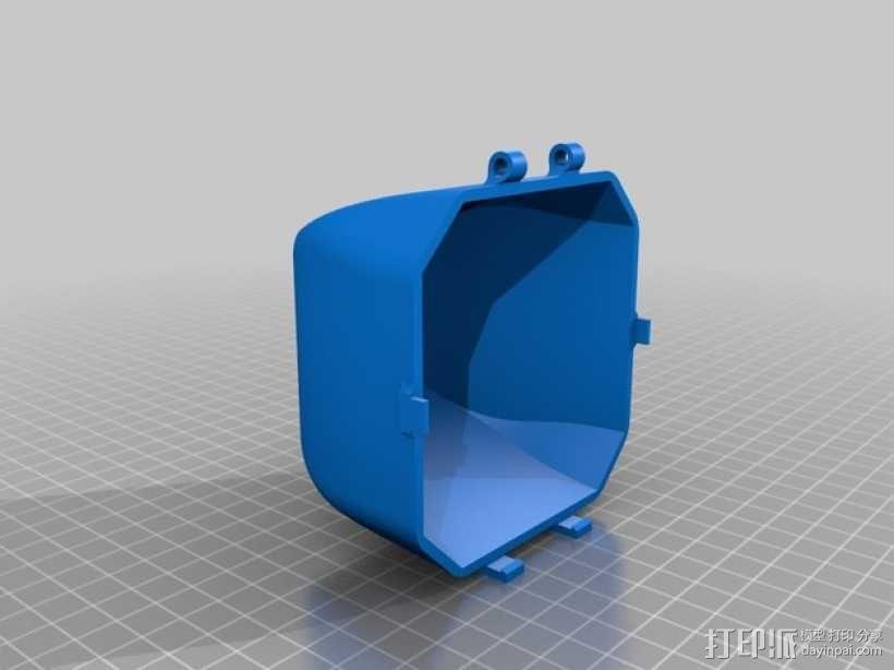 四轴飞行器 3D模型  图14