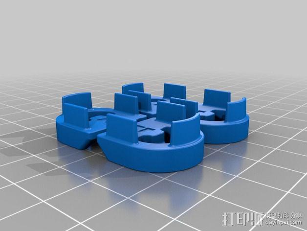 Wingjoiner 飞机零部件 3D模型  图4
