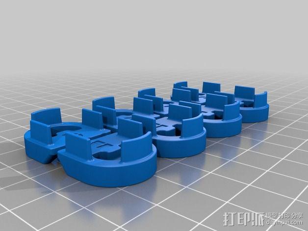 Wingjoiner 飞机零部件 3D模型  图5