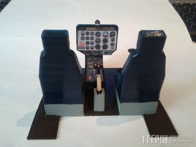迷你驾驶舱 3D模型  图2
