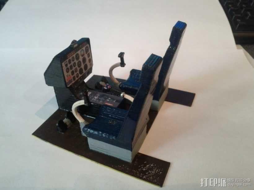迷你驾驶舱 3D模型  图1