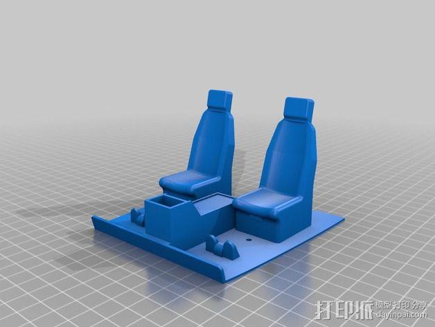 迷你驾驶舱 3D模型  图5