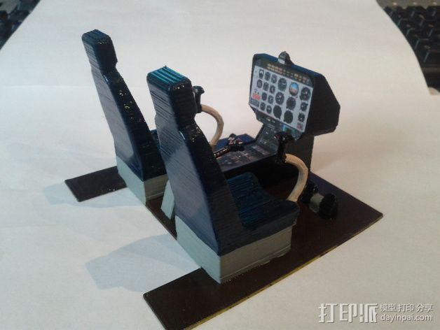 迷你驾驶舱 3D模型  图3