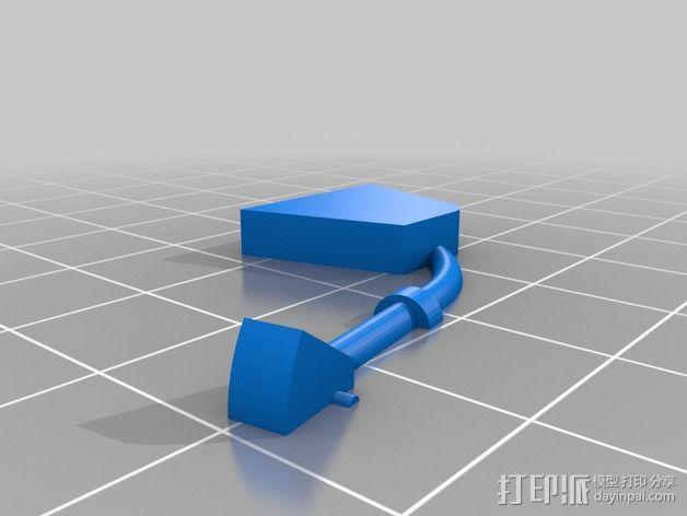 迷你驾驶舱 3D模型  图9