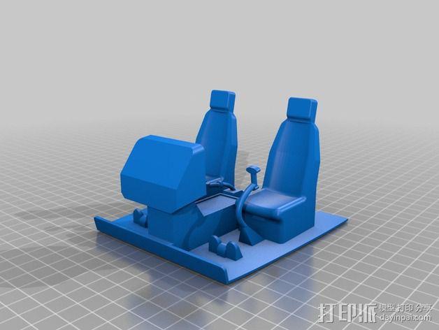 迷你驾驶舱 3D模型  图13