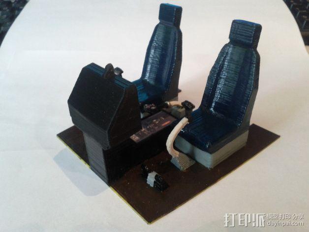 迷你驾驶舱 3D模型  图15