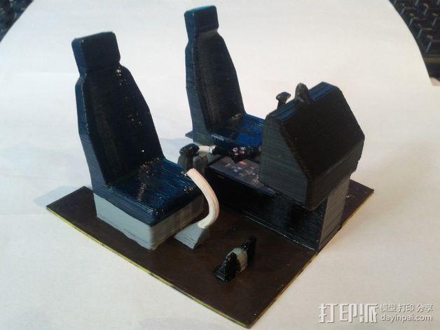迷你驾驶舱 3D模型  图14