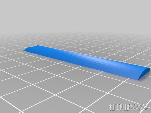 螺旋桨 3D模型  图2