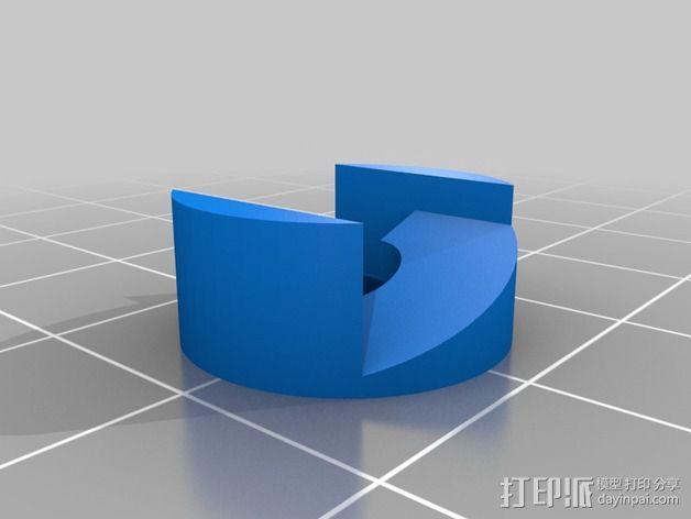 螺旋桨 3D模型  图4