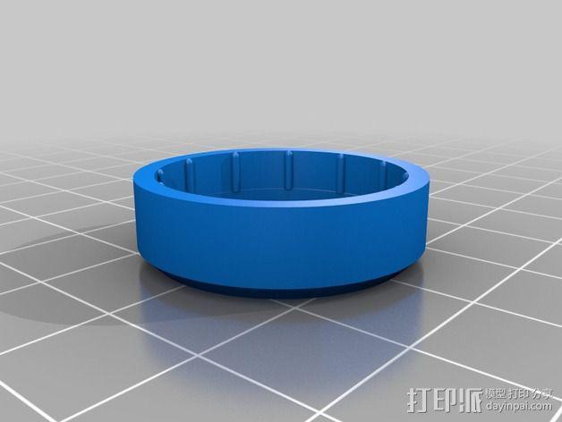 Hero3相机镜头保护盖 3D模型  图2