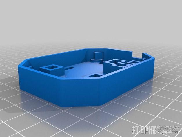 飞行控制器外壳 3D模型  图4