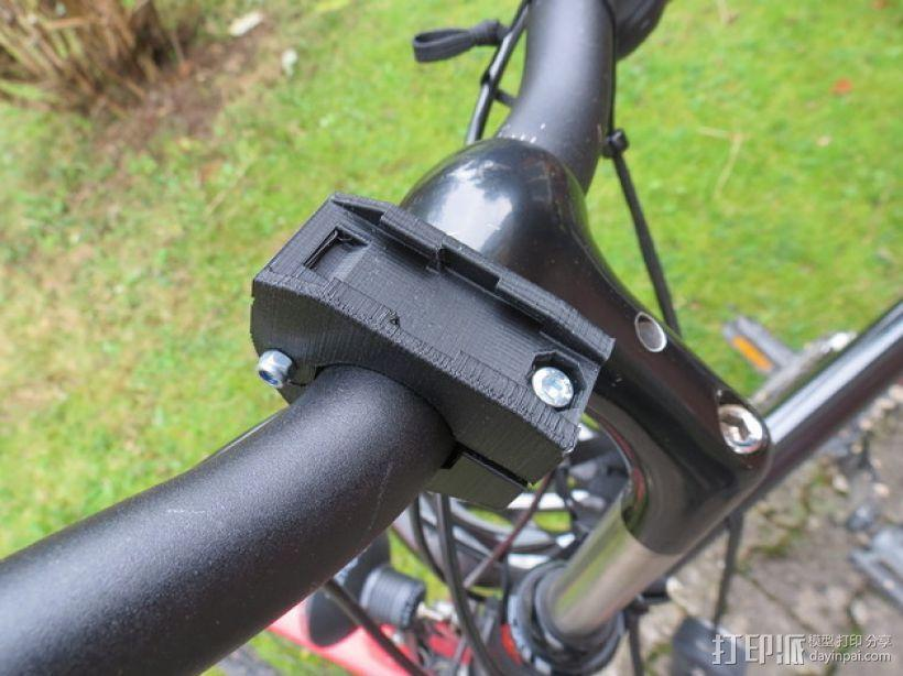 自行车把手支架 3D模型  图1