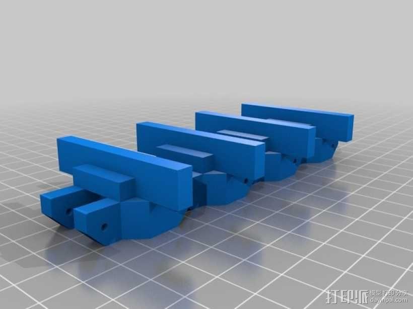 履带 3D模型  图1