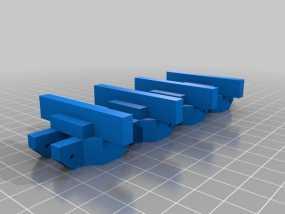 履带 3D模型