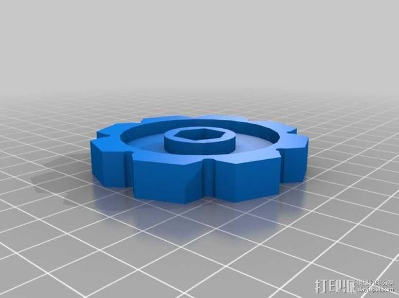 履带 3D模型  图6