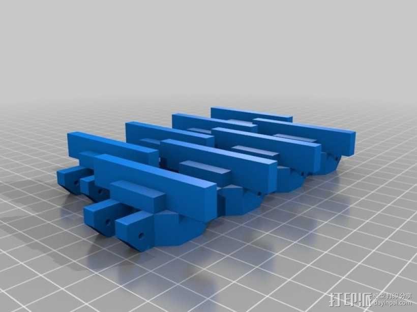 履带 3D模型  图4