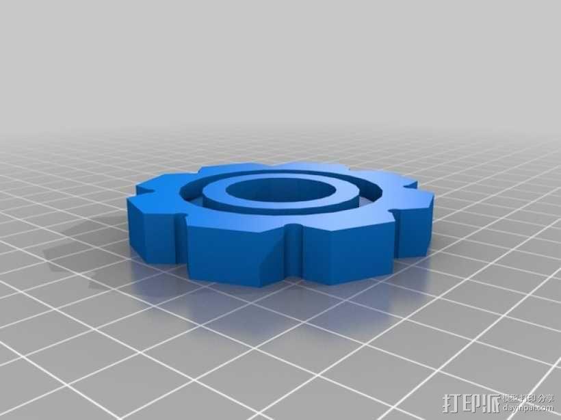 履带 3D模型  图7