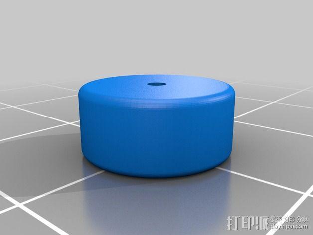 全向轮 3D模型  图4
