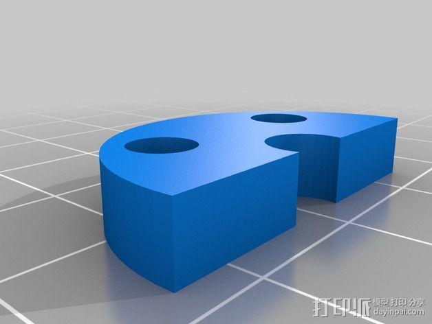 全向轮 3D模型  图3