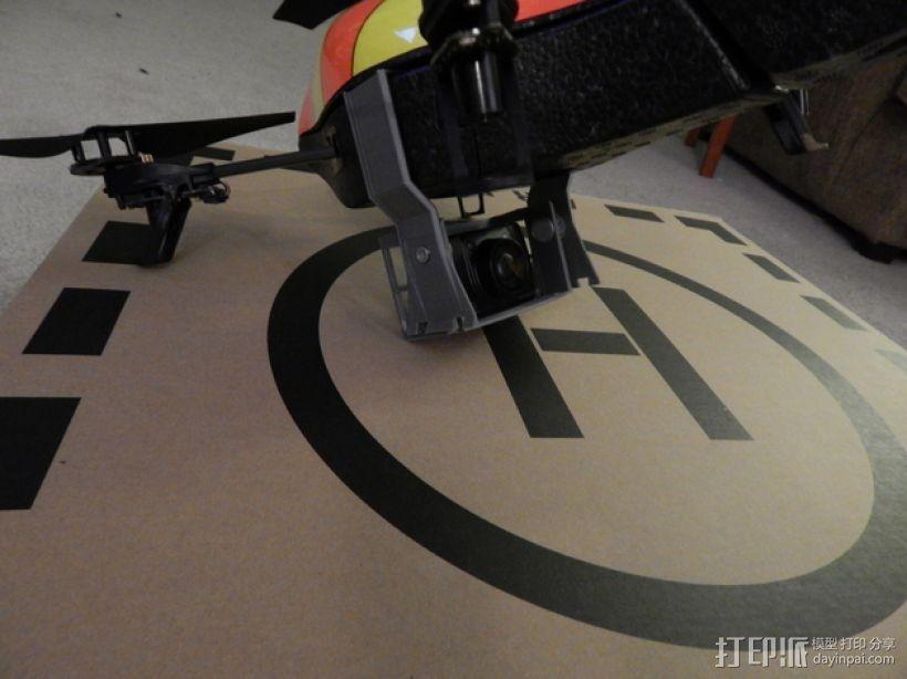 无人机 相机支架 3D模型  图1