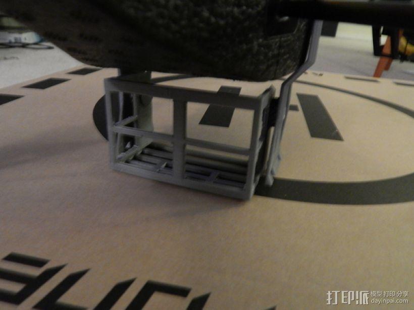 无人机 相机支架 3D模型  图6