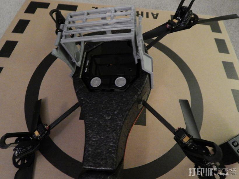 无人机 相机支架 3D模型  图8