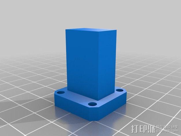 波导配适器 3D模型  图3