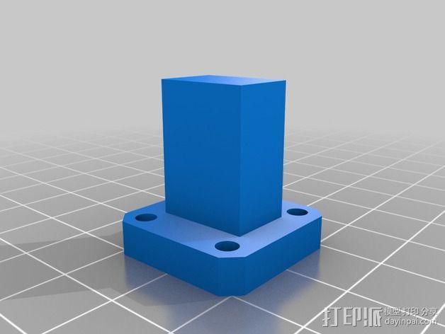 波导配适器 3D模型  图4