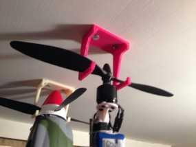 飞机 悬挂支架 3D模型